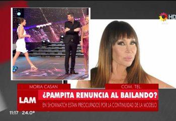 """Pampita está feliz con su <i>reality</i>"""