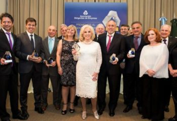 La Asociación de Dirigentes de Empresas reconoció a Mirtha Legrand y Gustavo Yankelevich