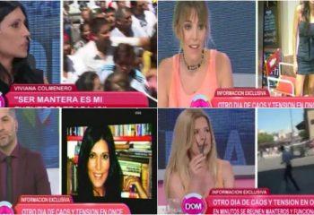 Viviana Colmenero se cruzó con Noelia Antonelli y Mercedes Ninci
