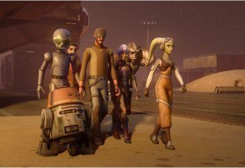 Se inició la producción de la cuarta temporada de <i>Star Wars Rebels</i>