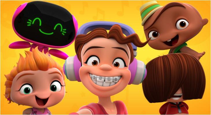 Discovery Kids Estreno Mini Beat Power Rockers La Serie Creada Por