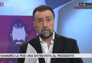 El descargo de Roberto Navarro por su desvinculación de C5N