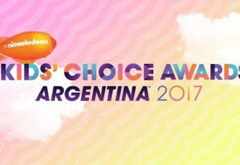 Todos los nominados a los Kids´ Choice Awards Argentina 2017