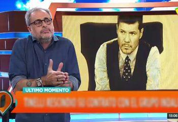 """""""Tinelli rescindió su contrato con el Grupo Indalo y está armando su productora"""""""