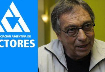 La respuesta de la Asociación Argentina de Actores tras la renuncia de Luis Brandoni