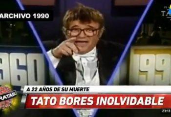 El homenaje de Intratables a Tato Bores