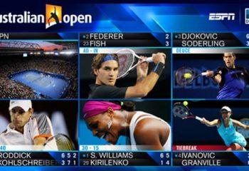 La cobertura especial del Australian Open a cargo de ESPN y DirecTV