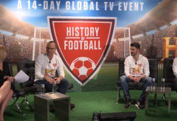 HISTORY presentó <i> La historia del fútbol</i> con David Villa