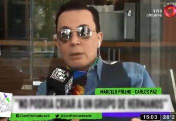 Marcelo Polino adelantó detalles del programa que hará junto a Gasalla