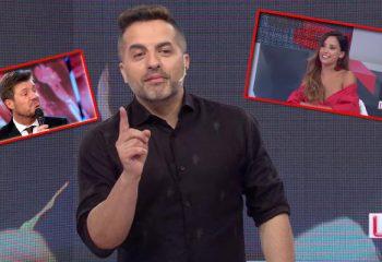 Lourdes Sanchez le mostró la lista de convocados al Bailando a Ángel De Brito y Tinelli estalló en twitter