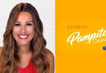 Pampita ya se muestra en la pantalla de telefe