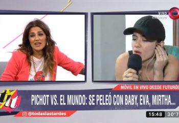 Maju Lozano le cortó el móvil a Malena Pichot