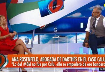 Todo <i>Intrusos</i> se cruzó con Ana Rosenfeld por Calu Rivero
