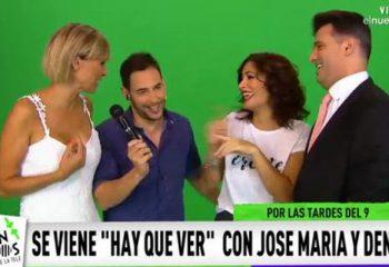 José María Listorti y Denise Dumas anticiparon detalles de <i>Hay que ver</i>