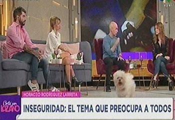 El perro de Vero Lozano interrumpió una entrevista en vivo