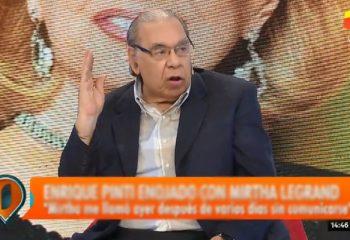 """El descargo de Enrique Pinti: """"Me tiraron un balde de mierda"""""""