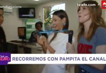 Verónica Lozano le dio la bienvenida a Pampita