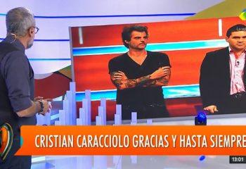 Jorge Rial despidió a Cristian Caracciolo, el camarógrafo fallecido
