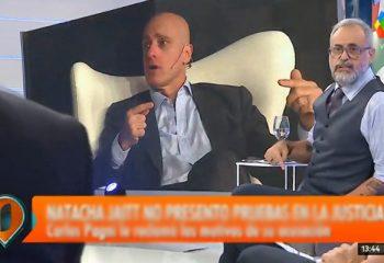 Jorge Rial volvió a apuntar contra Natacha Jaitt y apoyó a Carlos Pagni