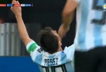 Los goles de Argentina a Nigeria