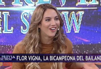 Flor Vigna habló de su nuevo equipo para el <i>Bailando 2018</i>