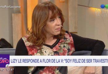 Lizy Tagliani le respondió a Flor de la V