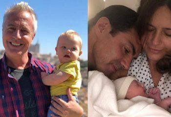 Marley junto a Isabel Macedo y Juan Manuel Urturbey