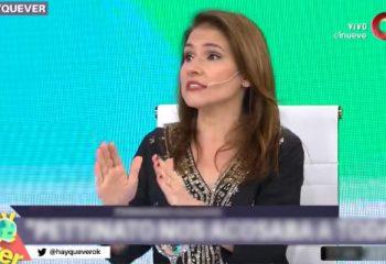 Fernanda Iglesias se despidió de <i>Hay que ver</i>