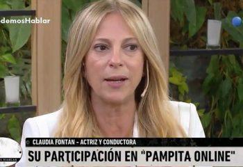 Claudia Fontán contó la trastienda de su participación en <i>Pampita Online</i>
