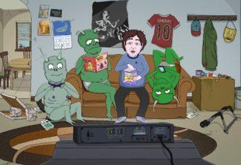 Comedy Central estrena <i>Jeff y los aliens</i>