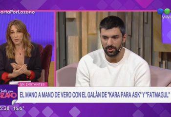 Vero Lozano explicó el conflicto con el actor turco Engin Akyürek