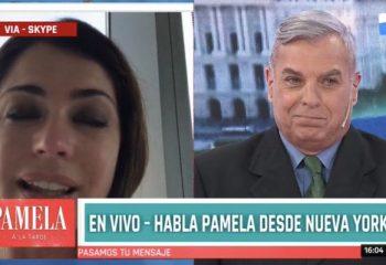 Las lágrimas de Pamela David por la salud de Daniel Vila