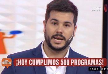 <i>El show del problema</i> festejó 500 programas