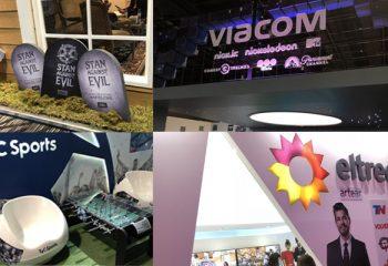 Los expositores presentaron sus stands en Jornadas Internacionales 2018