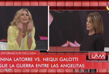 Entre gritos, Yanina Latorre y Nequi Galotti protagonizaron un nuevo cruce