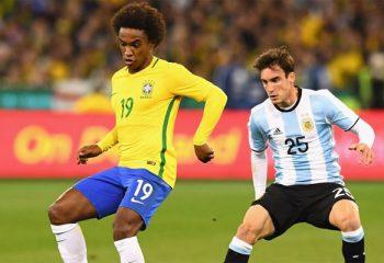 Argentina y Brasil se miden por TyC Sports