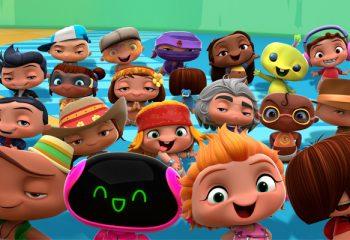 La serie de Discovery Kids <i>Mini Beat Power Rockers</i> fue nominada a los Emmy Kids Awards