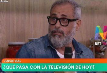 Jorge Rial habló de la difícil situación de la televisión