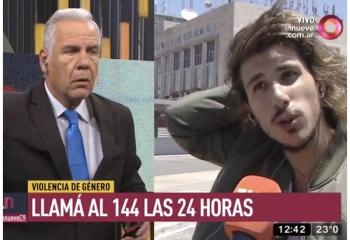Rodrigo Eguillor abandonó un móvil