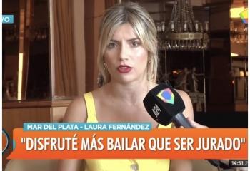 """Laurita sobre su rol de jurado: """"Lo padecía"""""""