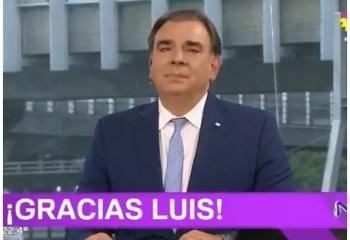 Luis Otero se despidió de <i>Noticiero Trece</i>