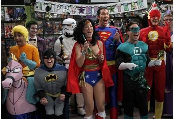 Maratón de <i>The Big Bang Theory</i> en Warner Channel