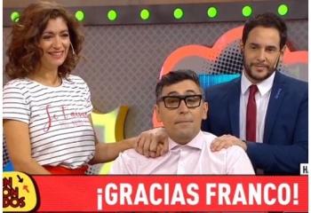 Franco Torchia se despidió de <i>Confrontados</i>