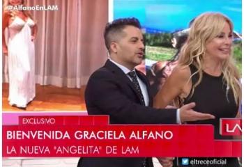 Graciela Alfano se sumó a <i>LAM</i>