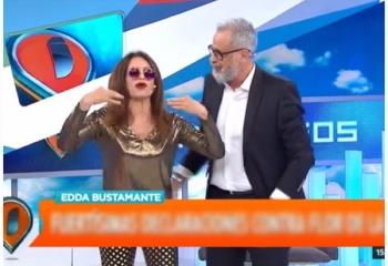 Edda Bustamante se enojó y abandonó el piso de <i>Intrusos</i>