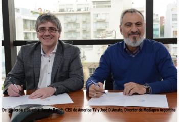 Alianza entre América TV y THE MEDIAPRO STUDIO