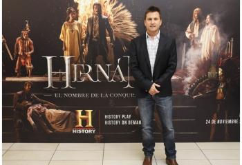 History presentó <i>Hernán</i>
