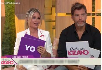 Así fue la despedida de Flor Peña de <i>Cortá por Lozano</i>
