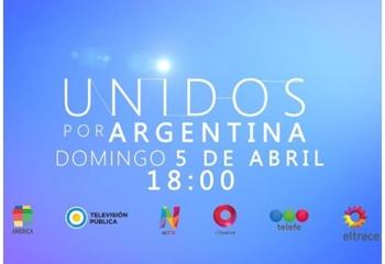 Los conductores de <i>Unidos por Argentina</i>