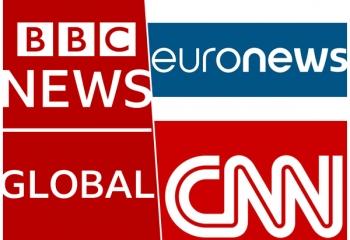 Tres canales internacionales unidos contra el Covid-19
